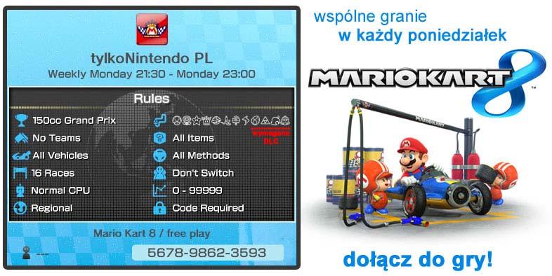 Mario Kart 8 - wspólne granie / free play